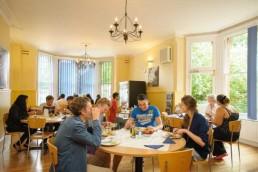 Vacanze studio a Oxford: mensa