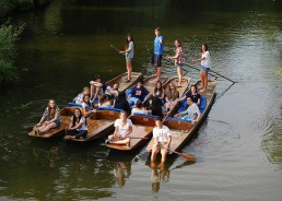 Vacanze studio a Oxford: punting