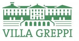 Logo Villa Greppi: disegno verde villa